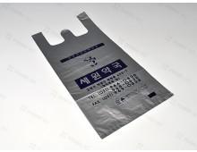 비닐봉투 20*40 은색(단면인쇄) 1BOX용-2