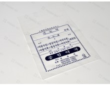 비닐봉투 18*30 (단면인쇄) 손잡이타공-1