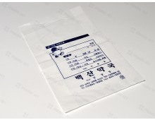 비닐봉투 18*30 (단면인쇄) 손잡이타공-2