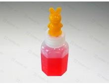 긴마개 말랑이투약병 12ml(캐릭터)노랑토끼- 100개 * 10봉지