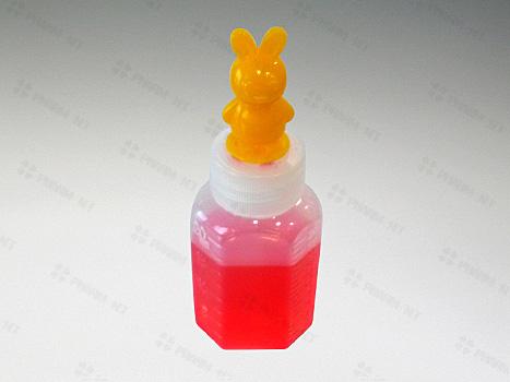 긴마개 말랑이투약병 12ml(캐릭터)노랑토끼-100개